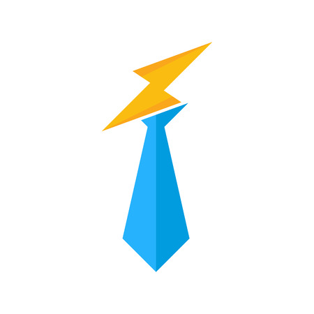 Job Power Energy Logo Icon Design 일러스트