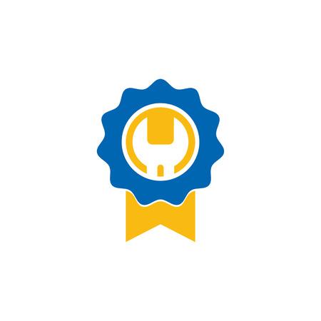 Best Repair Logo Icon Design Illustration
