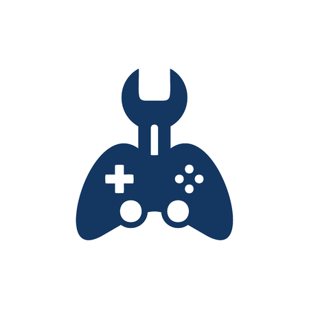 Game Repair Logo Icon Design
