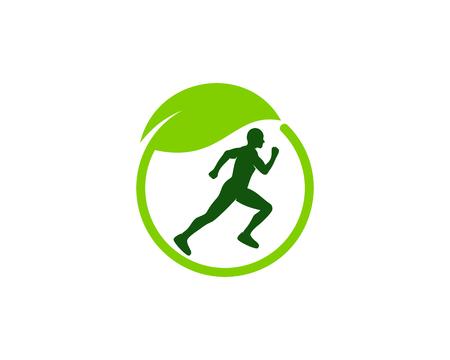 Support Run Logo Icon Design