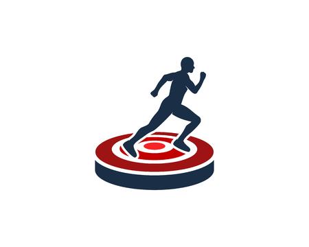 Run Icon Design