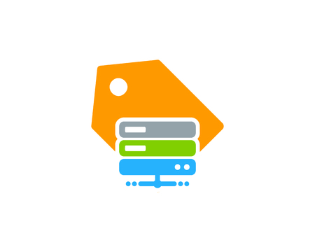 Tag Server Logo Icon Design