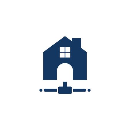 Estate Server Logo Icon Design