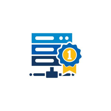 Best Server Logo Icon Design