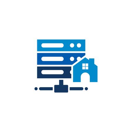 Home Server Logo Icon Design