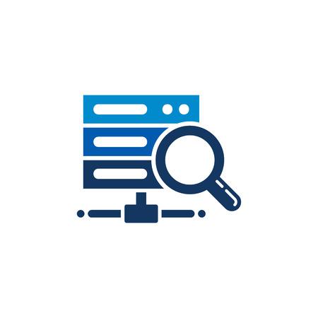 Search Server Logo Icon Design