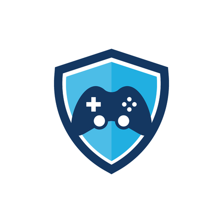 Game Shield Logo Icon Design