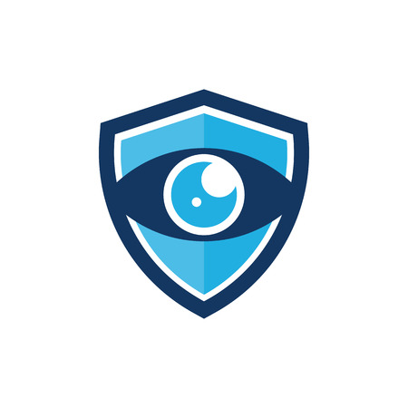 Vision Shield Logo Icon Design