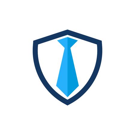 Job Shield Logo Icon Design 일러스트