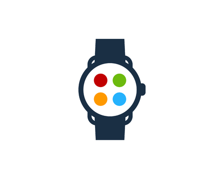 Smart Watch Logo Icon Design