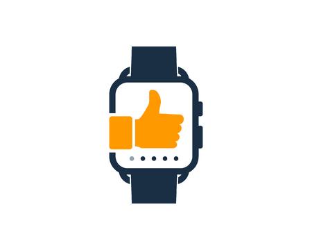 Best Smart Watch Logo Icon Design