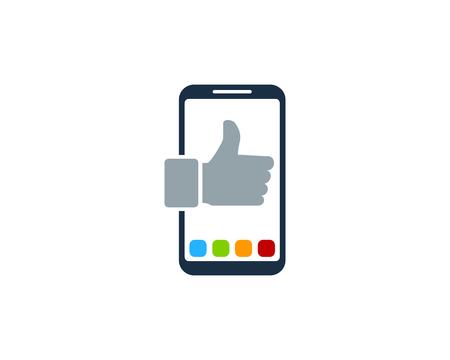 Best Smartphone Logo Icon Design Illustration