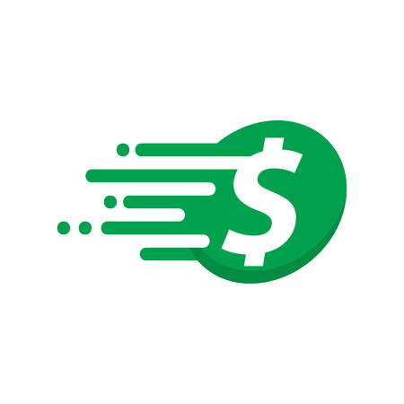Money Speed Logo Icon Design