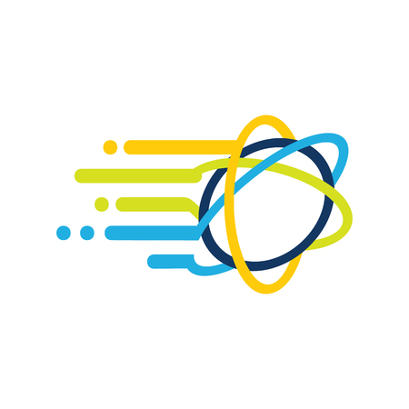 Science Speed Logo Icon Design