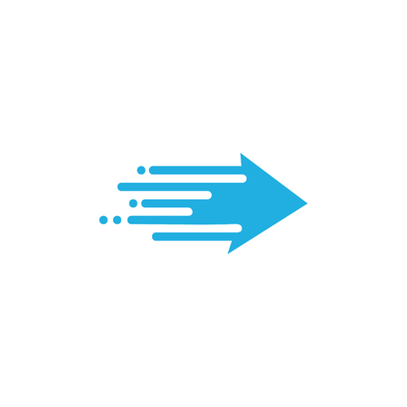 Arrow Speed Icon Design Illustration