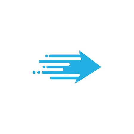 Arrow Speed Icon Design Stock Illustratie