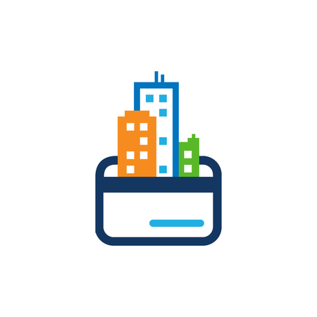 Payment Town Logo Icon Design