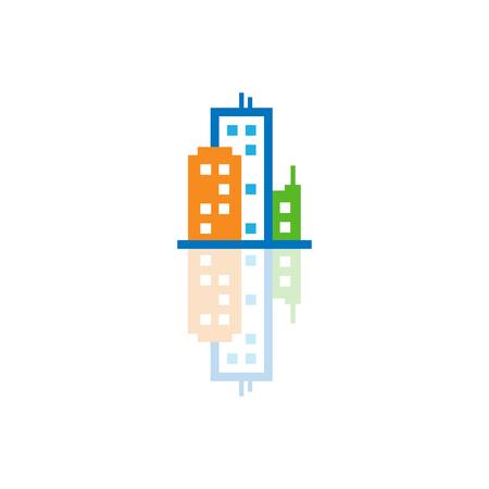 Town Logo Icon Design