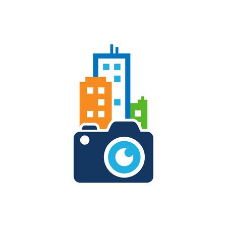 Camera Town Logo Icon Design