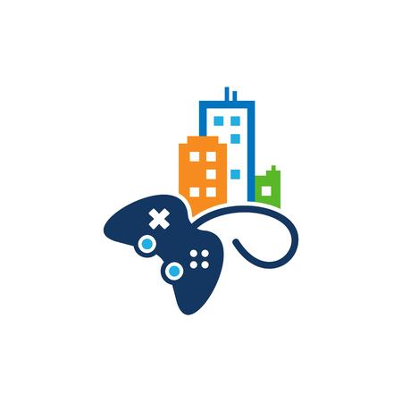 Game Town Logo Icon Design