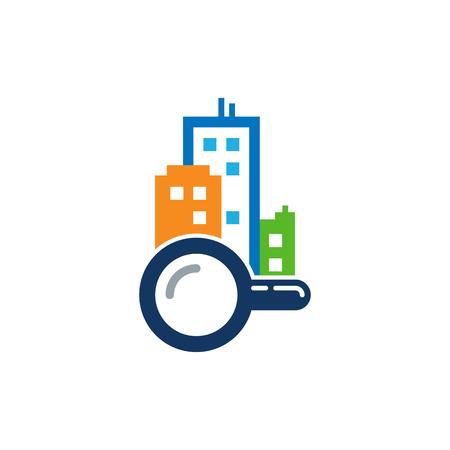Find Town Logo Icon Design