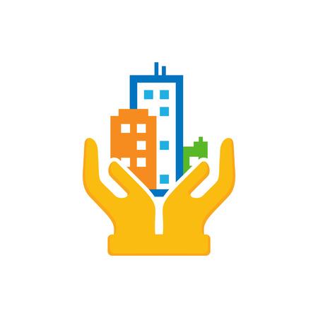 Care Town Logo Icon Design