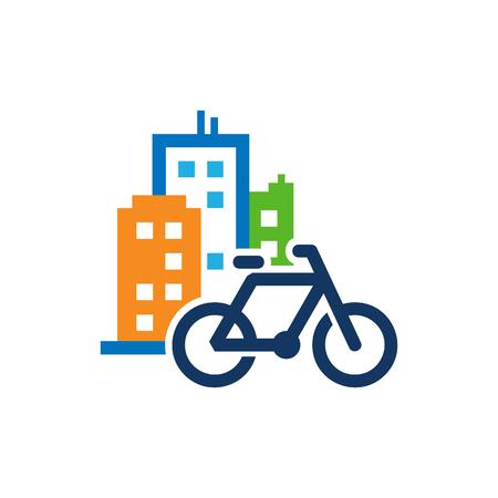 Bike Town Logo Icon Design