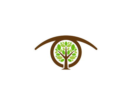 Vision Tree Logo Icon Design