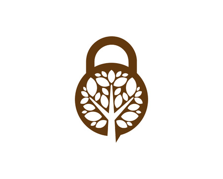 Safety Tree Logo Icon Design