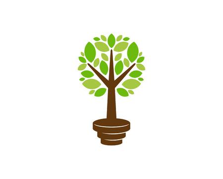 Workout Tree Logo Icon Design