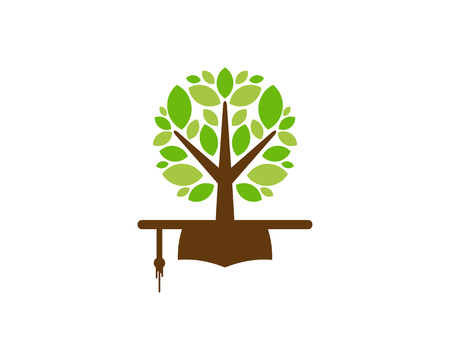 Education Tree Logo Icon Design