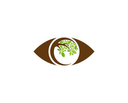 Eye Tree Logo Icon Design