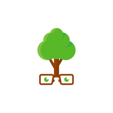 Geek Tree Logo Icon Design