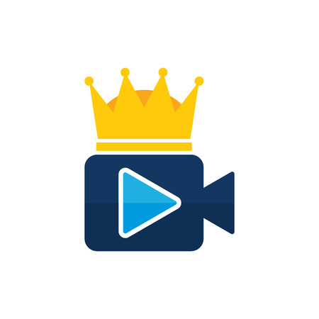 King Video Icon Design