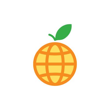Fruit World Logo Icon Design