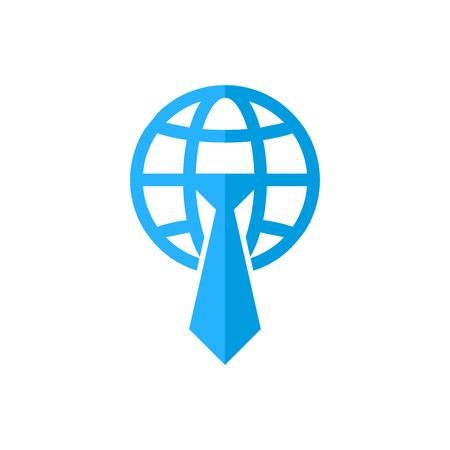 Job World Logo Icon Design