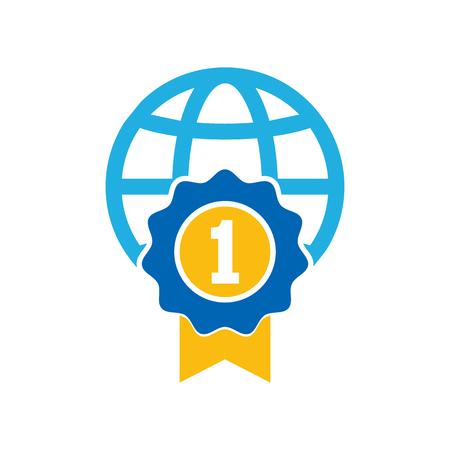 Best World Logo Icon Design
