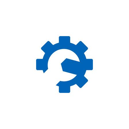 Repair Tool Logo Icon Design