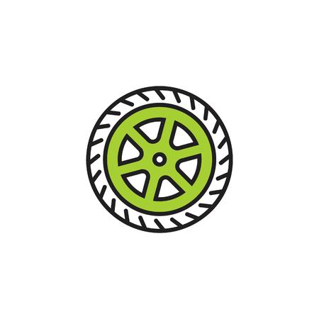 Tire Logo Icon Design