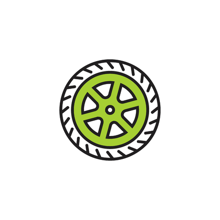 Tire Logo Icon Design