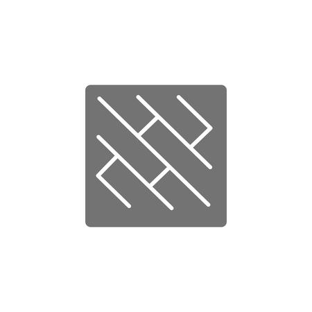 Diseño de icono de logotipo de azulejo Foto de archivo - 106096771