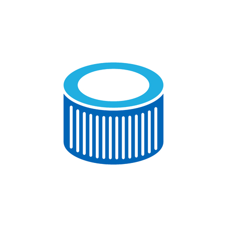 FIlter Car Part Logo Icon Design 일러스트
