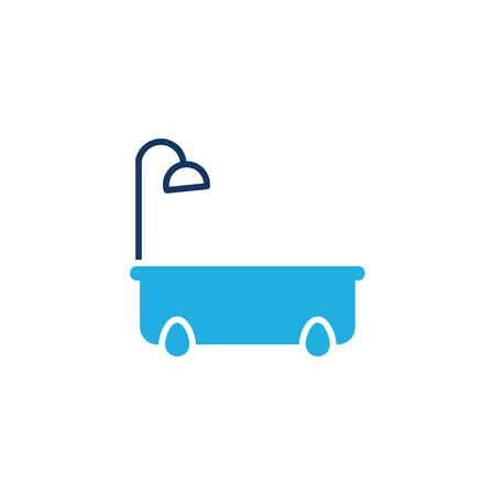 Bathtub Logo Icon Design Stock Illustratie