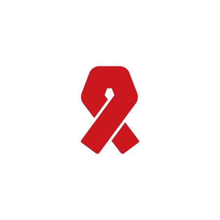 Aids Medical Logo Icon Design Banque d'images - 106096795
