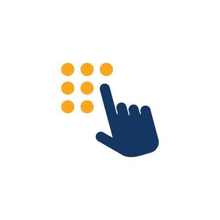 Touchpad Logo Icon Design
