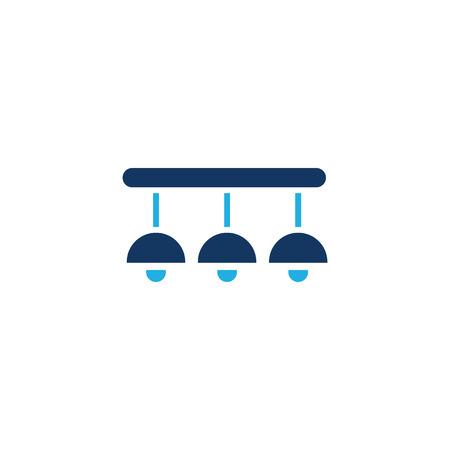 Lamp Logo Icon Design Banque d'images - 106096802