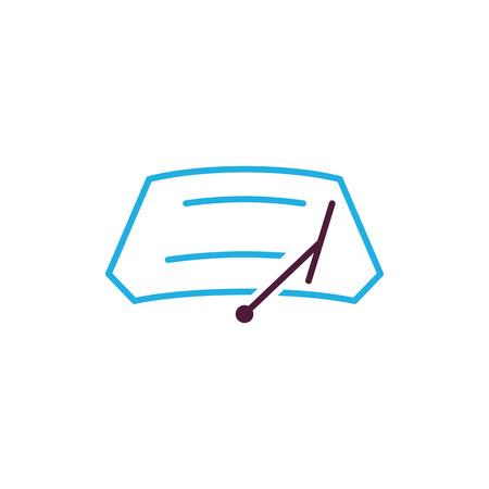Car Wiper Logo Icon Design Stock Illustratie