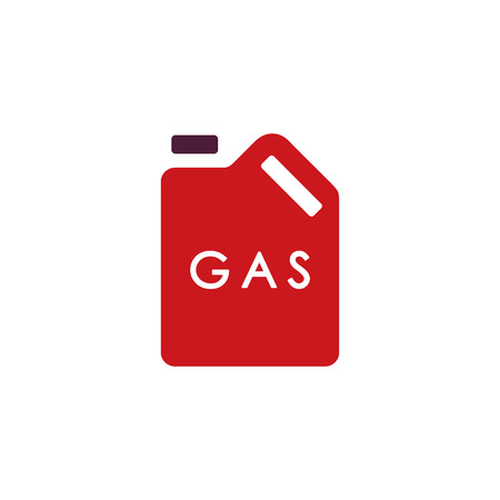 Fuel Gas Logo Icon Design Фото со стока - 106097140