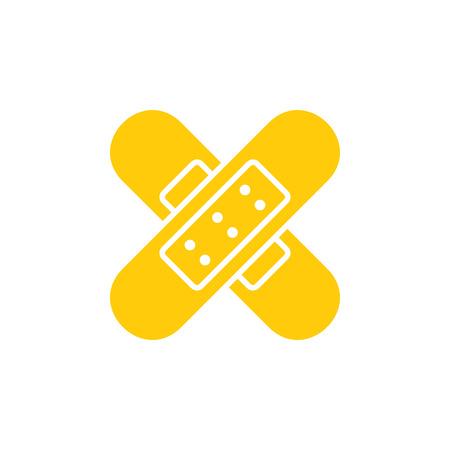 Bandage Medical Logo Icon Design