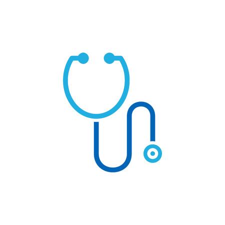 Projektowanie ikona Logo medyczne stetoskop Logo